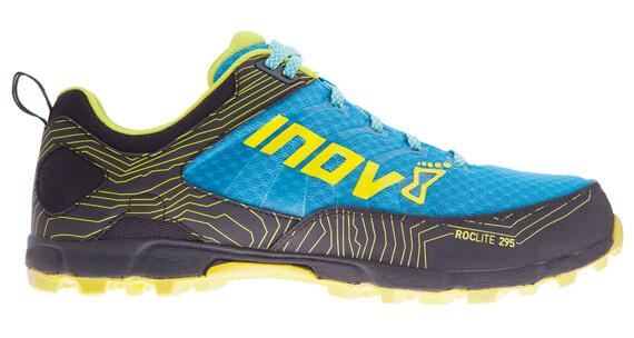 inov-8 Roclite 295 Shoes Men Blue/Black/Lime